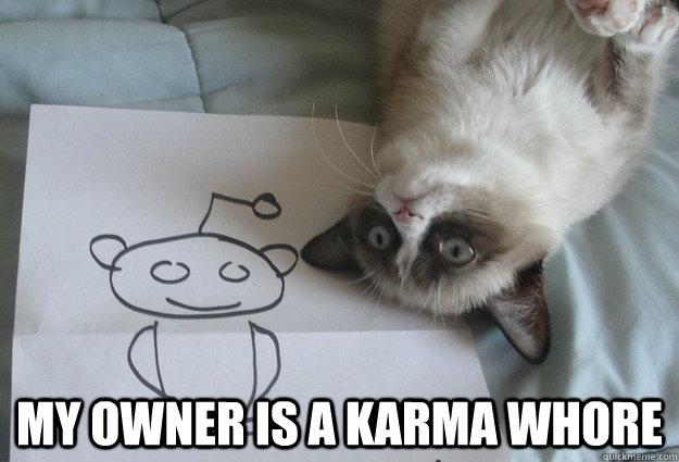 grumpy karma